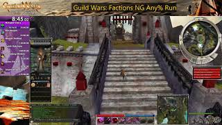 Guild Wars: Factions NG Any% Speedrun [2:40:26] (needs some work)