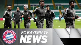 Bayern Munich building up to Celtic clash