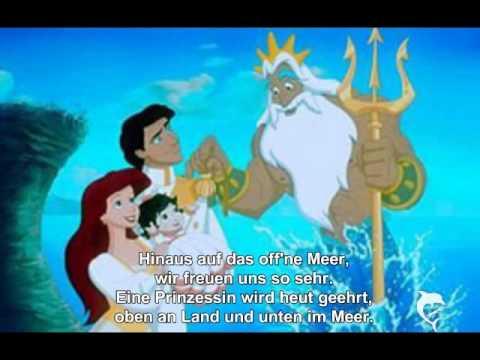 Melodie aus Arielle die Meerjungfrau 2 + Lyrik
