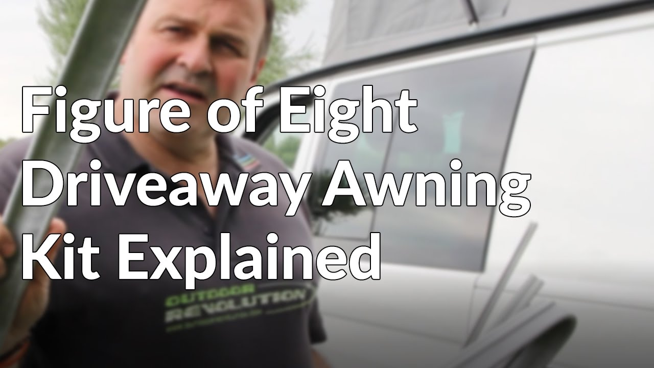 Figure Of Eight Driveaway Awning Fixing Kit Explained Youtube