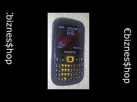 Téléphone mobile Samsung Corby TXT B3210 (GT-B3210)