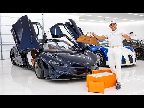 EVERYTHING YOU NEED TO KNOW ABOUT THE HERMES MCLAREN SPEEDTAIL! || Manny Khoshbin