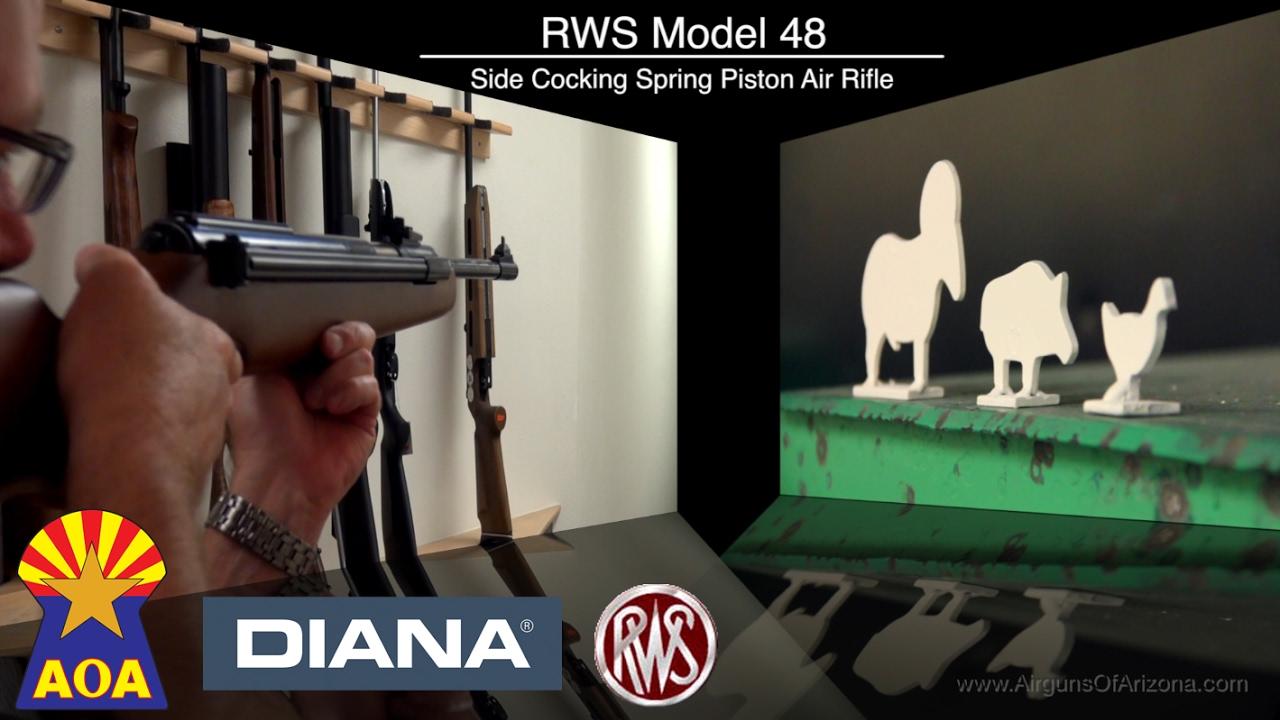 Diana model 52 vs diana airking review airguns reviews gunmart - Diana Rws Model 48 Sidelever Airgun