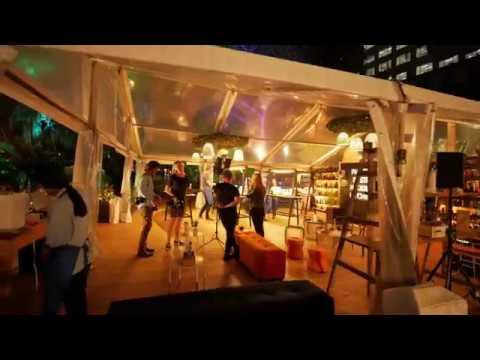Sydney Video Walk 4K - Night Noodle Market Spring 2017