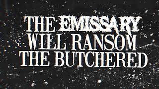 Recoil In Horror - Emissary of the Butchered (OFFICIAL LYRIC VIDEO)