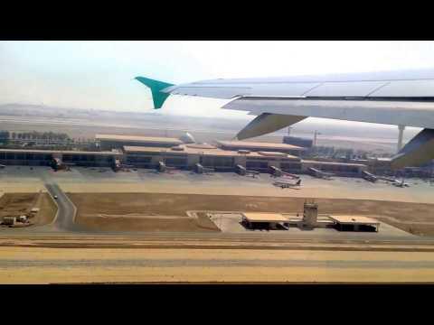Air traffic during departure from Dammam to Riyadh
