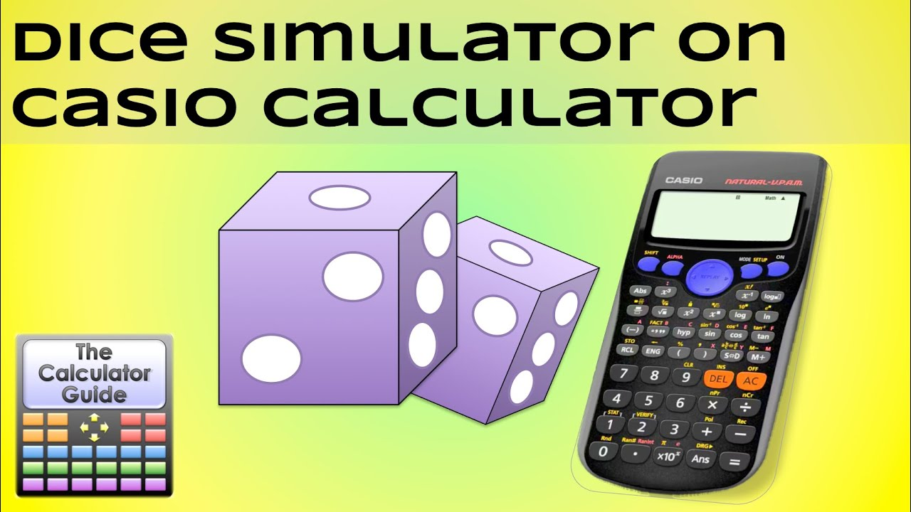 Dice Simulator ⚀ ⚁ ⚂ ⚃ ⚄ ⚅ Use your calculator instead of ...