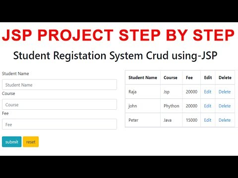 jsp-project-step-by-step