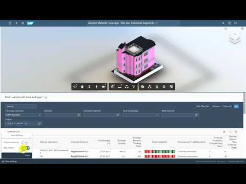 INTELSYS.build BIM-based Procurement & Production