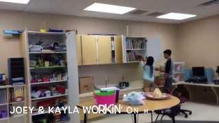 Classroom Arrangement Vlog Thumbnail