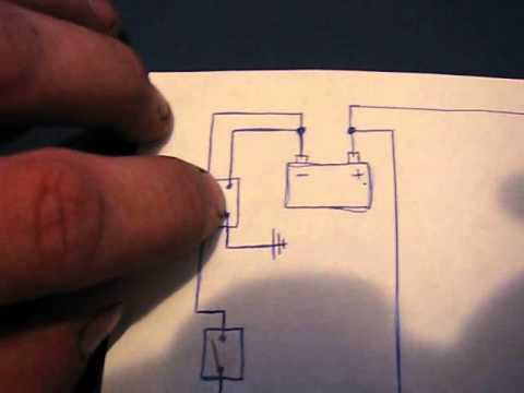dual battery wiring diagram for ndchevy youtube rh youtube com Painless Dual Battery Wiring Diagram RV Dual Battery Wiring Diagram