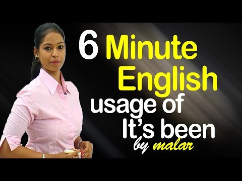 usage of the phrase -' It's been a long time' # 9 - Learn English with Kaizen through Tamil