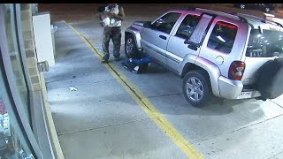 Baby thrown from car seat during fight