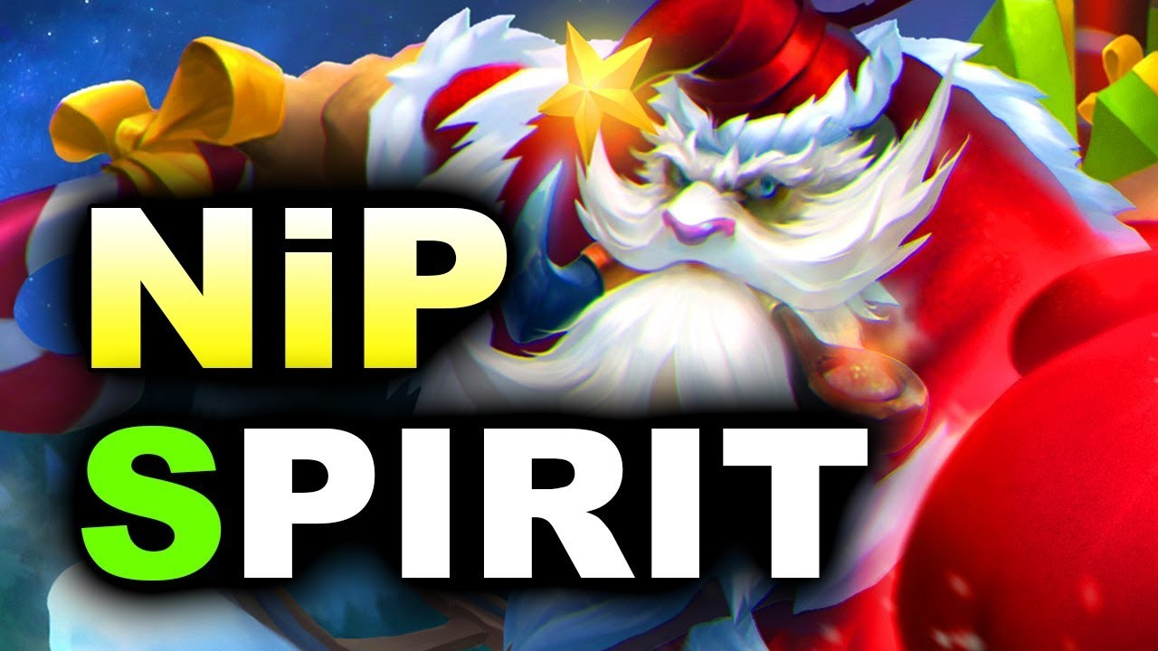 NiP vs SPIRIT - LOOT.BET WINTER MASTERS DOTA 2