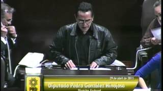 Dip. Pedro González (PRD) - Ley de Caminos, Puentes y Autotransporte Federal