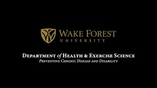 The department of health and exercise science offers a 2 year program leading to master degree. our has research agenda focused on ...