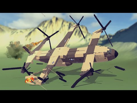 Emergency Landings #27 How survivable are they? Besiege  