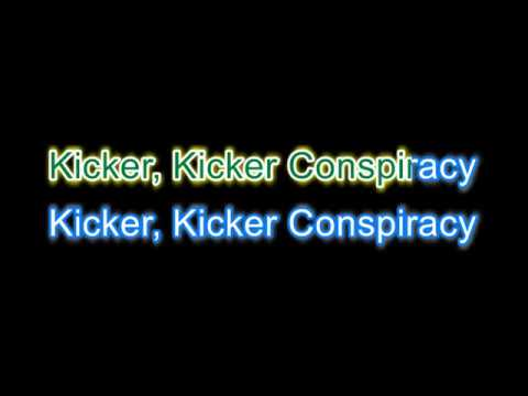 The Fall  - Kicker Conspiracy Karaoke version