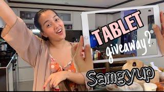 Mukbang+tablet giveaway?|CHINAROCES