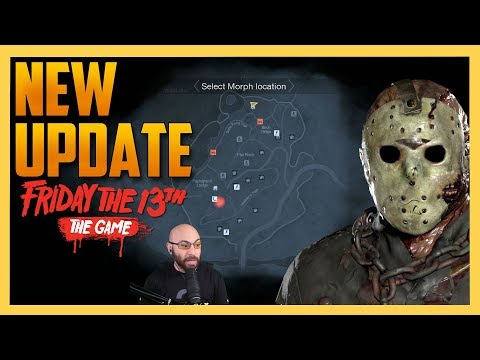 New Friday the 13th Updates - Smaller Maps & More!
