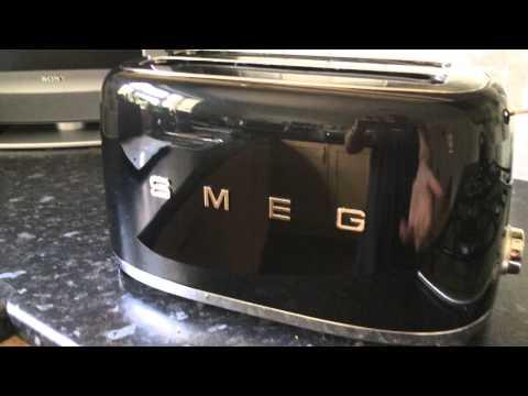 Smeg Retro 4 Slice Toaster