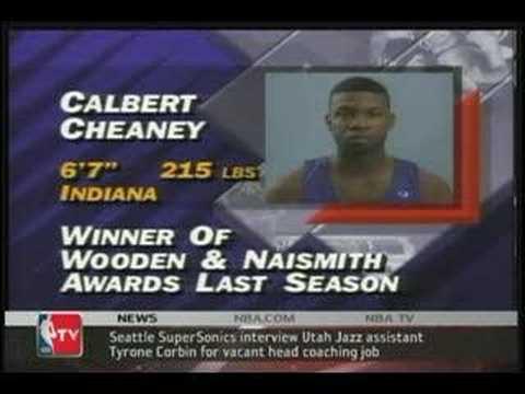 Calbert Cheaney Segment