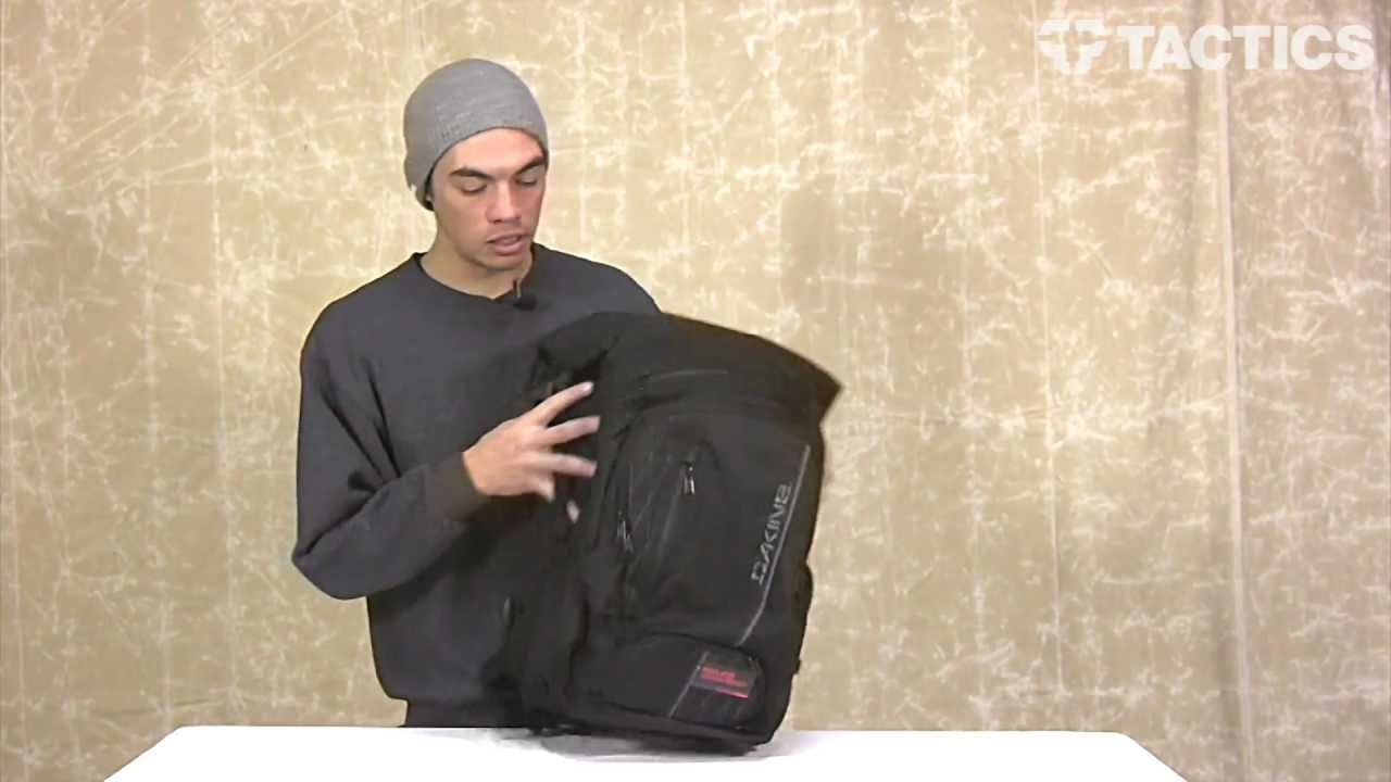 Dakine 2013 Section Wet-Dry Backpack Review - Tactics.com - YouTube