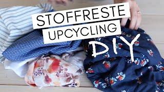 5 Upcycling DIY Ideen aus Stoffresten
