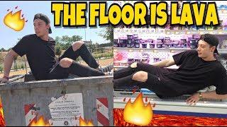 IL PAVIMENTO È LAVA - The Floor Is Lava Challenge