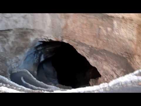 Walking In Natural Entrance Carlsbad Caverns