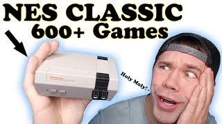 NES Classic Review!   600+ Games to Relive Your CHILDHOOD!