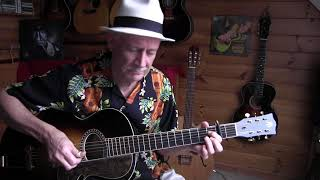 At a Georgia Campmeeting - Fingerpicking Ragtime Guitar