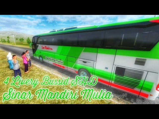 Berbagi livery bussid || Po. Sinar Mandiri Mulia SHD || by BlahBloh #1