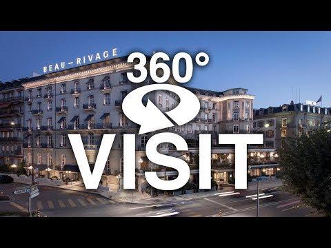 360° Visit - Palace Beau Rivage - Geneva Switzerland Nov 2018