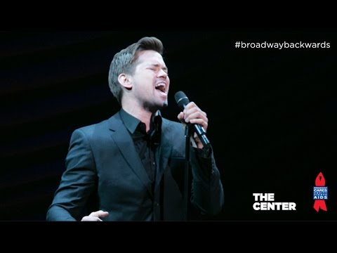 "Andrew Rannells - ""The Man That Got Away"" Broadway Backwards 2014"