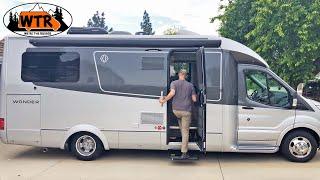 25' Small Class C RV WalkThrough | Leisure Travel Vans Wonder RTB
