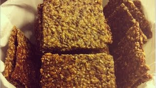 Диетические и полезные домашние хлебцы / Hjemmelaget knekkebrød