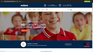 Enfant - School and Kindergarten WordPress Theme Byron Irving