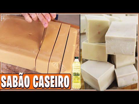 Download COMO FAZER SABÃO CASEIRO COM ÓLEO DE COZINHA USADO I Receitas de Pai