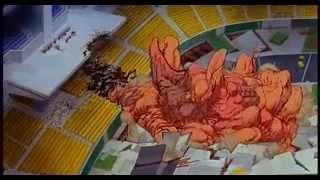 La mutación final de tetsuo en el doblaje catellano original, pese ...