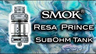 New Resa Prince SubOhm Tank by SMOK!