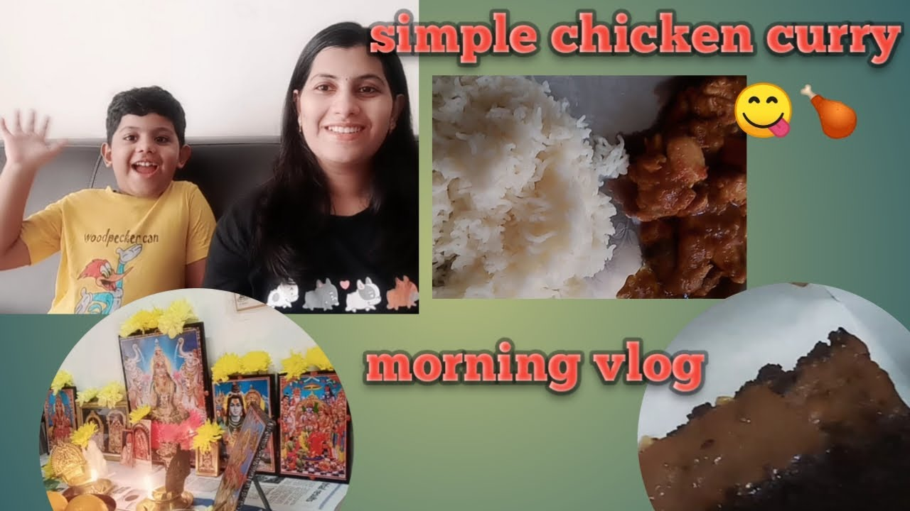 Simple chicken curry || Morning vlog || Watermelon Juice || Telugu Vlogs in Malaysia