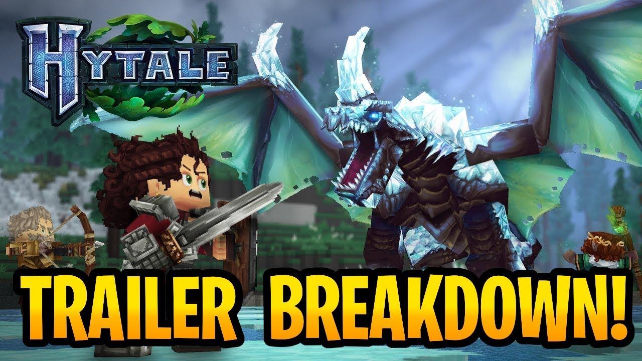 Hytale Trailer Gameplay Breakdown! Release Date Coming? Minecraft 2
