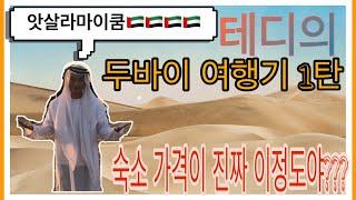 테디스브이로그 두바이 여행 1편 (7월 두바이의 숙소 …