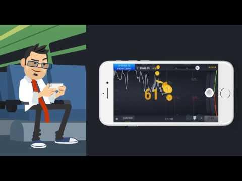 Virtual option trading app