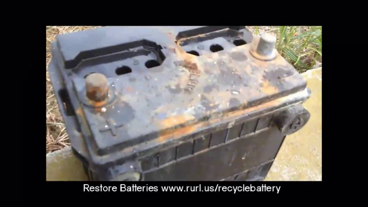 Restore Car Battery To Like New Condition How To Diy Automotive