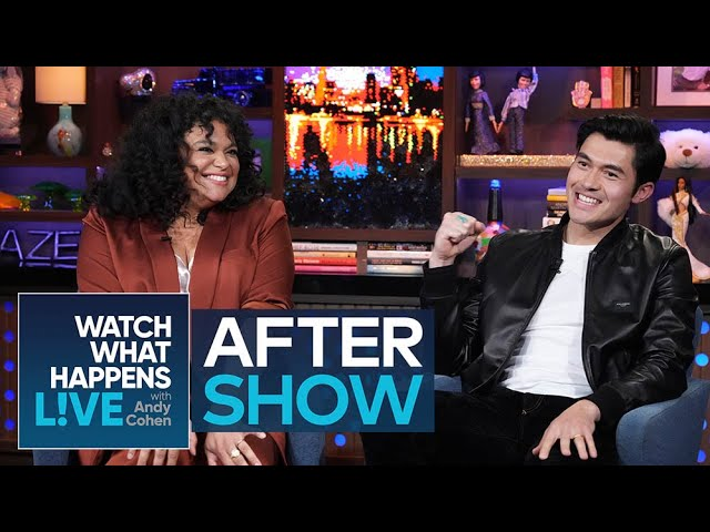 Henry Golding Cut Kate Middleton's Brother's Hair | WWHL