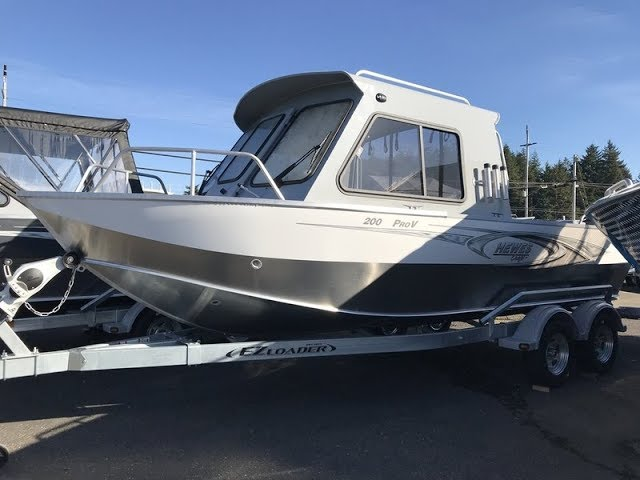 New 2018 Hewescraft Sea Runner 210 HT ET Boat For Sale in Coos Bay