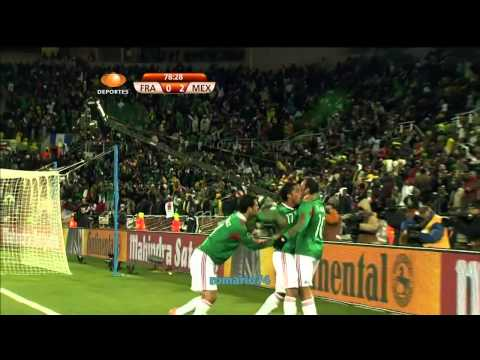 Sudáfrica 2010 Gol Cuauhtémoc Blanco - Francia Vs México