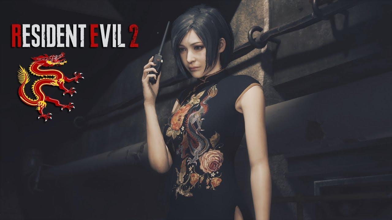 Resident Evil 2 Remake Ada Wong Starring In Enter Her Dragon
